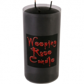 Weeping Rose Candle Large