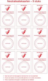 Werkkaart 3 - Neutralisatiekaart 9x
