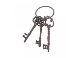 Keys to the Chambers 14,5 cm