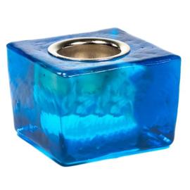 Kaarsenhouder Blauw