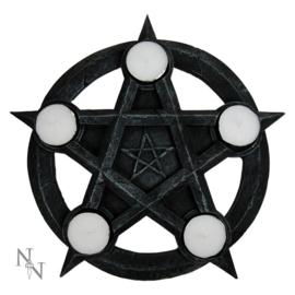 "Waxinelichthouder ""Pentagram"""