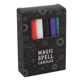 Spell Candles Gemengd (12 stuks)
