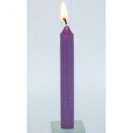 Spell Candle Paars (3 stuks)