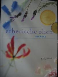 Boek Etherische Oliën van A tot Z