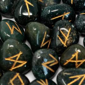 Runenset Heliotroop