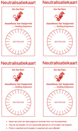 Werkkaart 2 - Neutralisatiekaart 4x