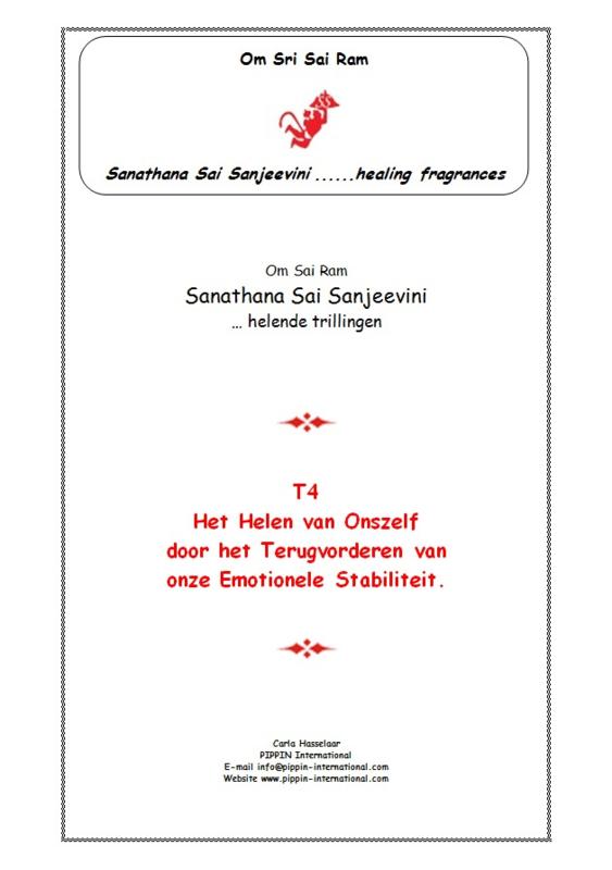T4 - Onderwerp: Emotionele Stabiliteit