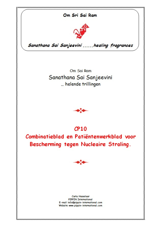 """CP10 - Thema-uitgave """"Nucleaire Straling"""""""