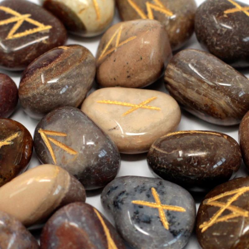 Runenset Jaspis