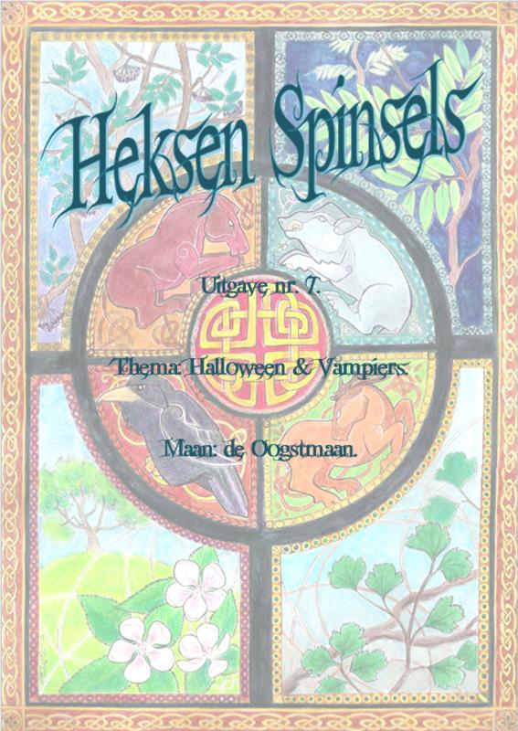 Waxinelichthouder Halloween.Heksen Spinsels Uitgave 7 Halloween Vampiers E