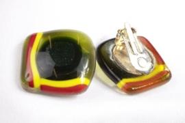Oorbel groen clip