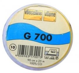 Vlieseline G 700 katoen - wit