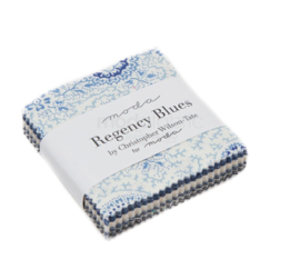 Regency Blues  Mini Charmpack