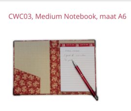 CWC03 - Medium Notebook, maat A6
