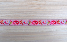 Farbenmix Paisley rose - 12 mm