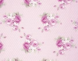 Slipper Roses-dottie PWTW089-pinkx