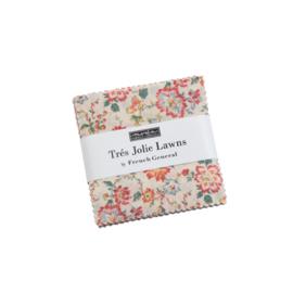 Tres Jolie Lawn - mini Charmpack