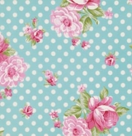 Rosey Roses PWTW061-tealx