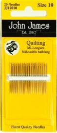 John James - 20 needles Quilting 10
