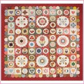 ANTIQUE SAMPLER - Sue Daley Designs