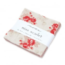 Miss Scarlett - mini charmpack