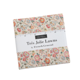 Tres Jolie Lawn - Charmpack. French General