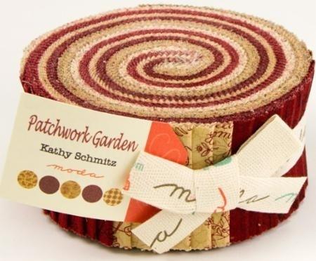 Patchwork Garden - Jelly Roll