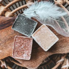 Amber blokjes in 3 verschillende geuren