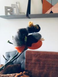 DIY pakket merinowol vogels 5st.