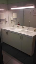 Sanitaire ruimtes inrichting