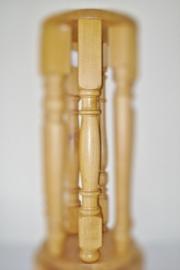 Houten Eiken tafelpoot  type model Bode