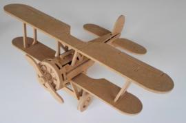 3D puzzel vliegtuig dubbeldek  / AB001457