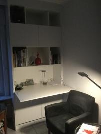 Wandkasten met secretaire