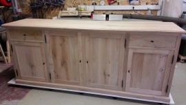 Dressoir massief eiken