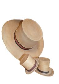 Houten hoed mini
