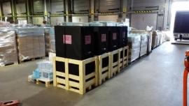 I labe Flightcases voor chocolade gigant BARRY- CALLEBAUT