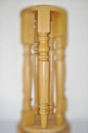 Houten Eiken tafelpoot  type Model Pine