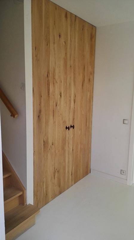 Eiken Kast In Nis Meubelen Op Maat Ab Wooddesign