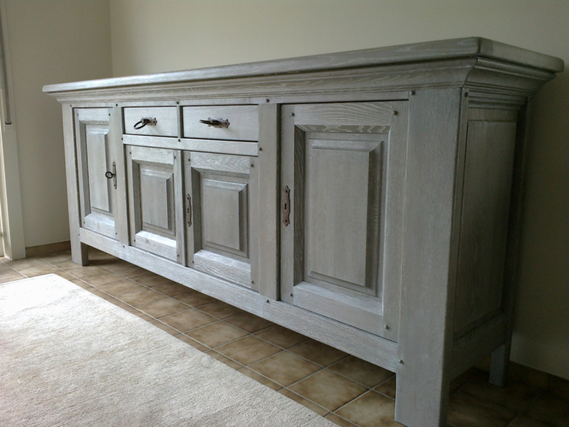 Dressoir kast massief eik