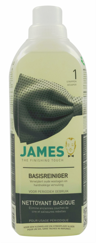 James Intensive cleaner