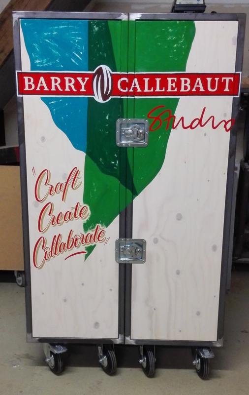 Mobile I lab rebranding Barry Callebaut