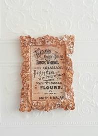 """""""Antieke""""Lijst met Franse Reclame"""