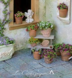 Flock Materiaal voor het maken van Bloemen