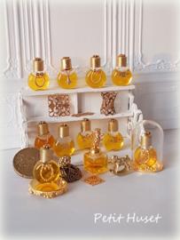 Gevulde Parfumflesjes-SOLD