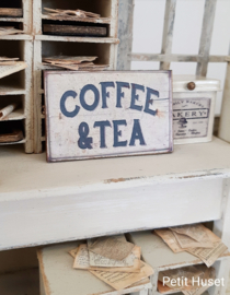 Cofee & Tea Sign