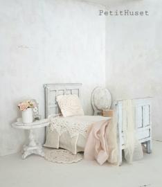 Oud, Houten Bed
