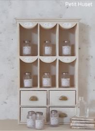 Oude Mason Jar met Etiket