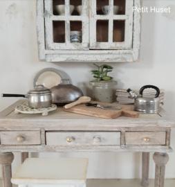 Vintage Steelpan excact 1:12