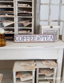 Tea And Cofee Sign