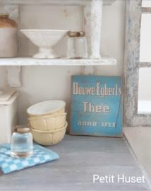 Oud DOUWE EGBERTS Sign
